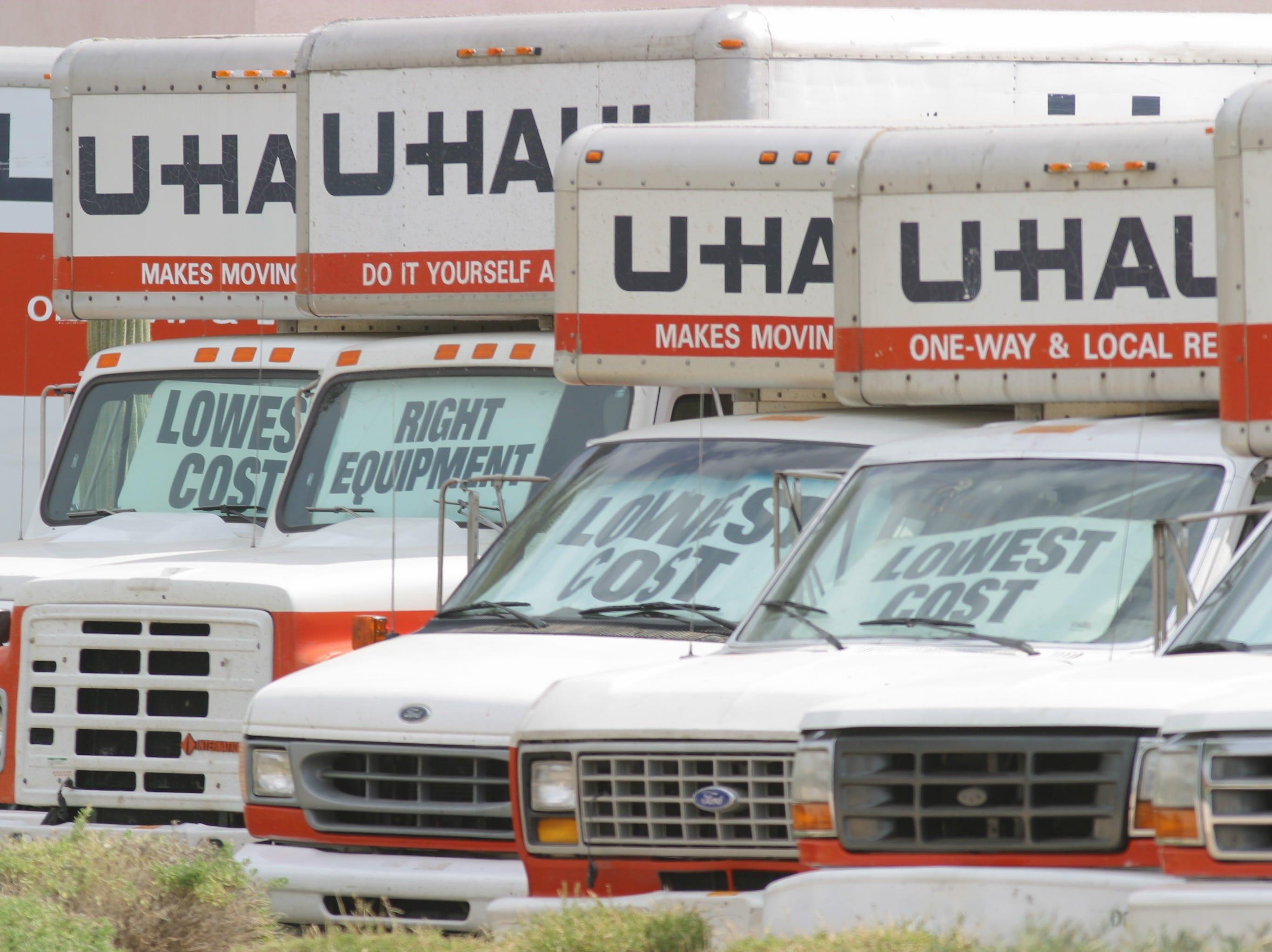 No. 46: Amerco | U-Haul truck, equipment rentals | 2019 employees: 3,843 | 2018 employees: 3,852 | Ownership: Public | Headquarters: Phoenix | www.uhaul.com