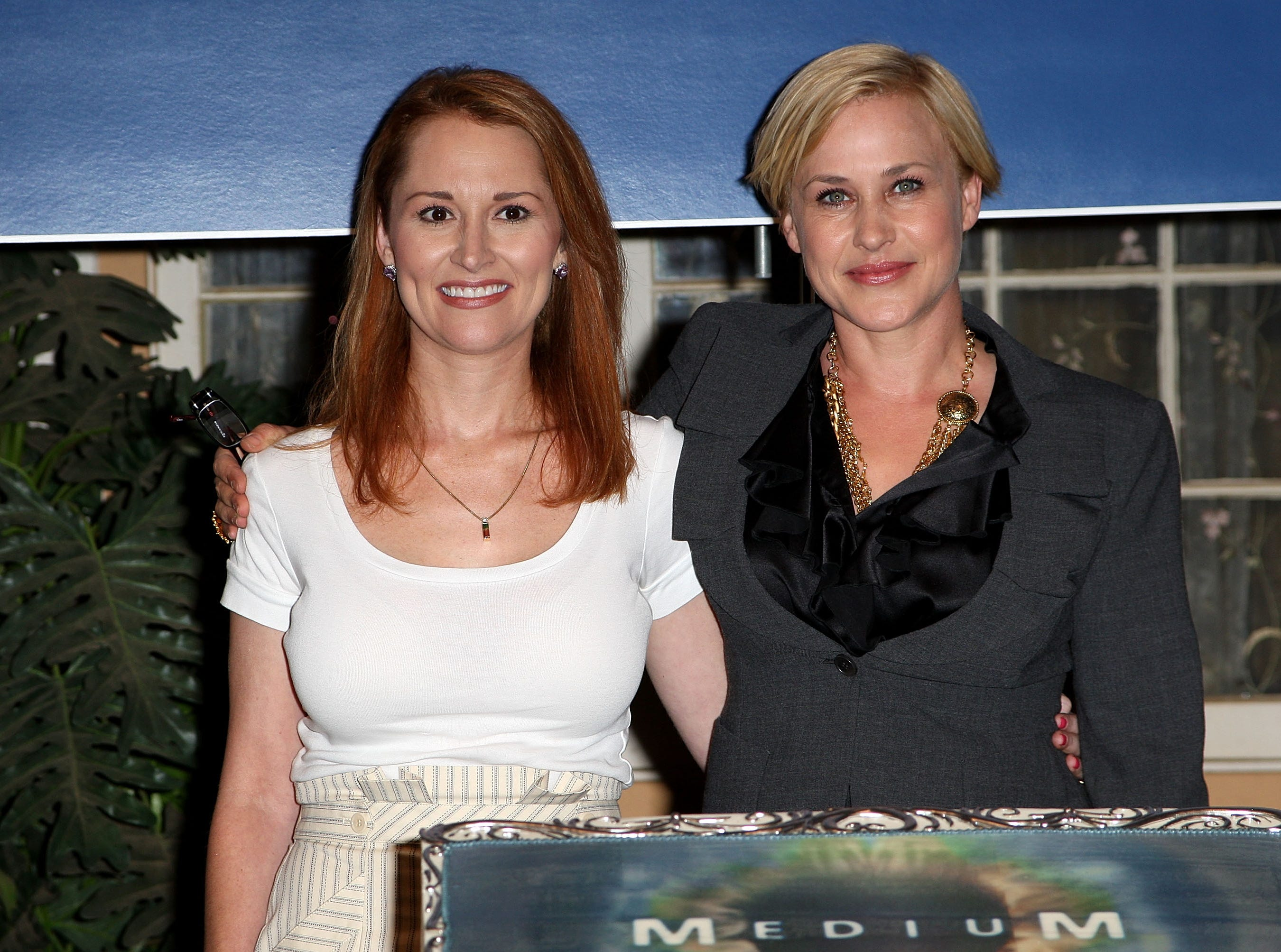 """The life of Allison DuBois (left) inspired the TV series """"Medium,"""" which stars Patricia Arquette."""