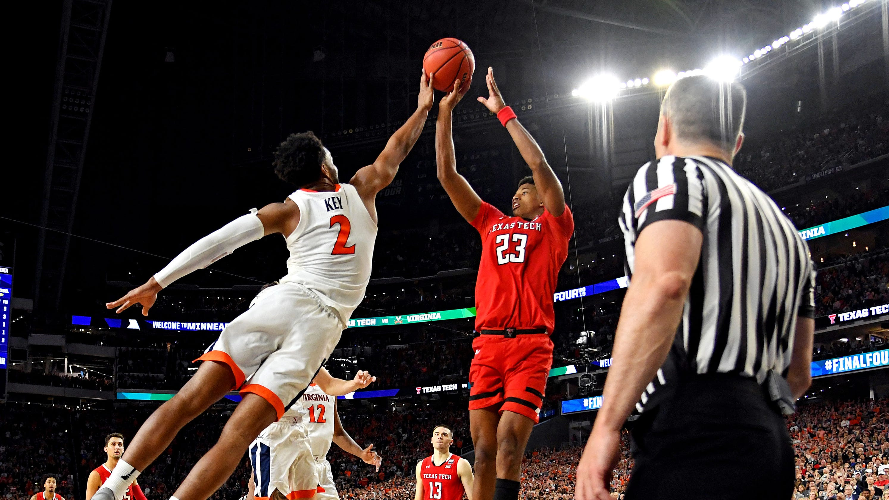 sports shoes adbd5 716c6 Takeaways from Virginia s win over Texas Tech in NCAA championship game