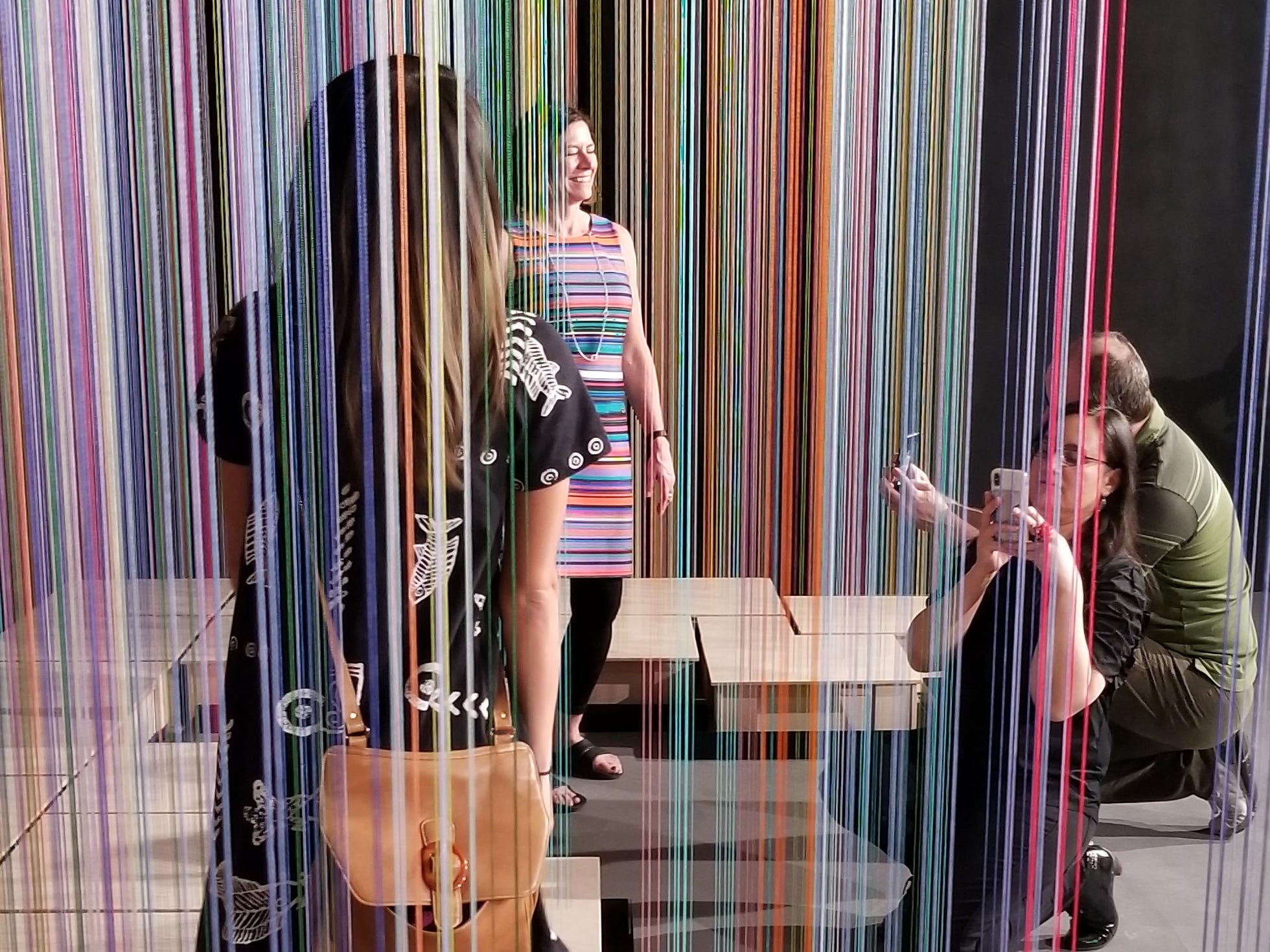 """""""Sweet Spot"""" by Shawn Causey and Mark Daniell is part of Wonderspaces Arizona, an immersive art show open April through mid-July 2019 at Scottsdale Fashion Square."""