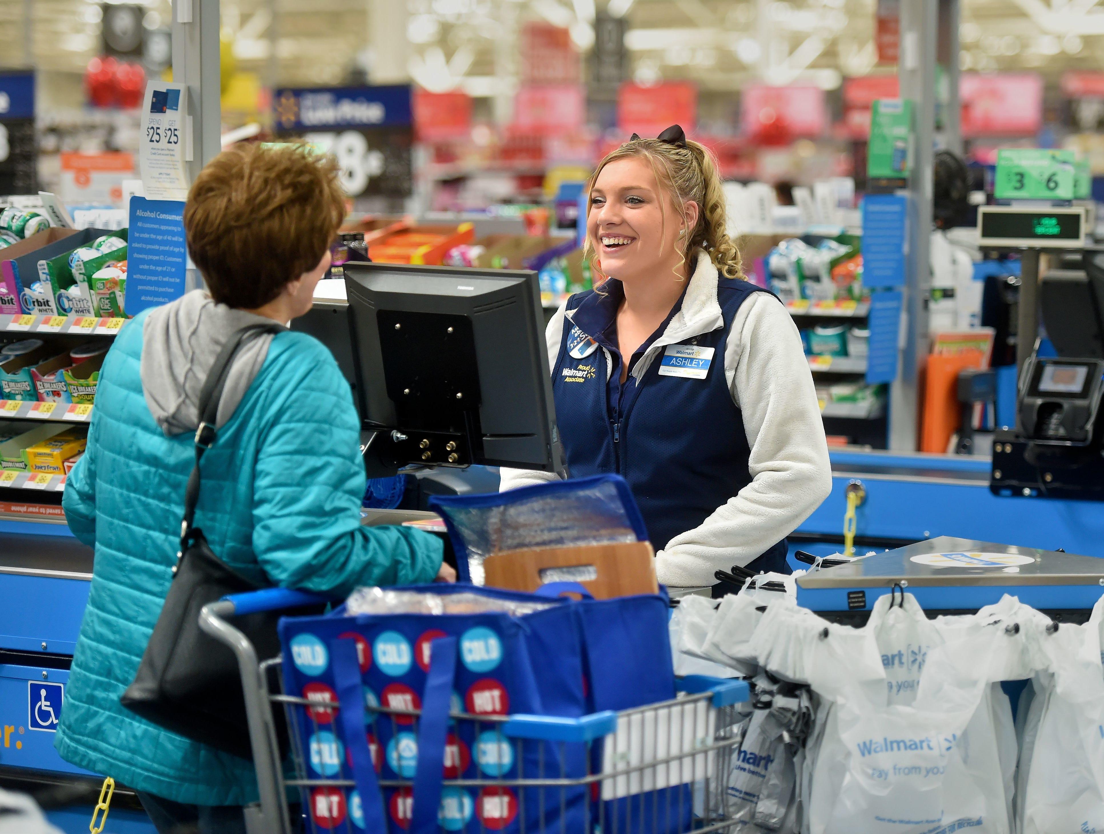 No. 2: Walmart Stores Inc. | Discount department stores | 2019 employees: 34,071 | 2018 employees: 34,300 | Ownership: Public | Headquarters: Bentonville, Arkansas | www.walmart.com