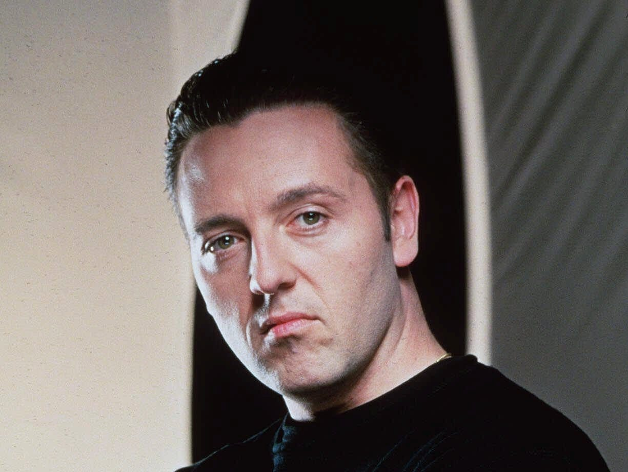 """""""Crossing Over with John Edward"""" aired on the Sci-Fi Channel from 2001 to 2004."""