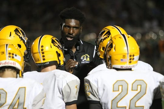 Brandon Johnson is the new football coach at Fairfax High.
