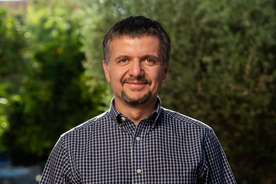 University of Arizona ProfessorDimitrios Psaltis is the Event Horizon Telescope's project scientist. He coordinates the science activities of the more than 200 people involved.