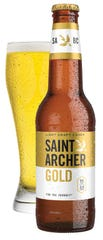 Saint Archer Brewing Company of San Diego released Saint Archer Gold, which has 95 calories and 4.2% alcohol by volume.