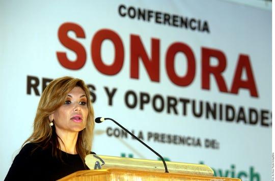 Claudia Pavlovich, gobernadora de Sonora.