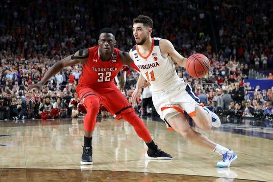 Virginia superó a Texas Tech en la gran final del basquetbol colegial.