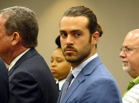 Pablo Lyle en la corte de Miami.