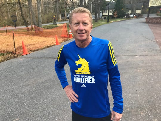 Mount Gretna resident Joseph Wentzel is preparing to run his first Boston Marathon on Monday at the age of 62.