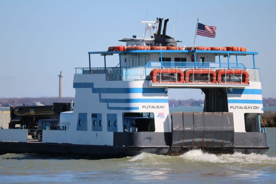 The Miller Ferry is back up and running for the 2019 season, providing trips to and from Put-in-Bay and Catawba Island.