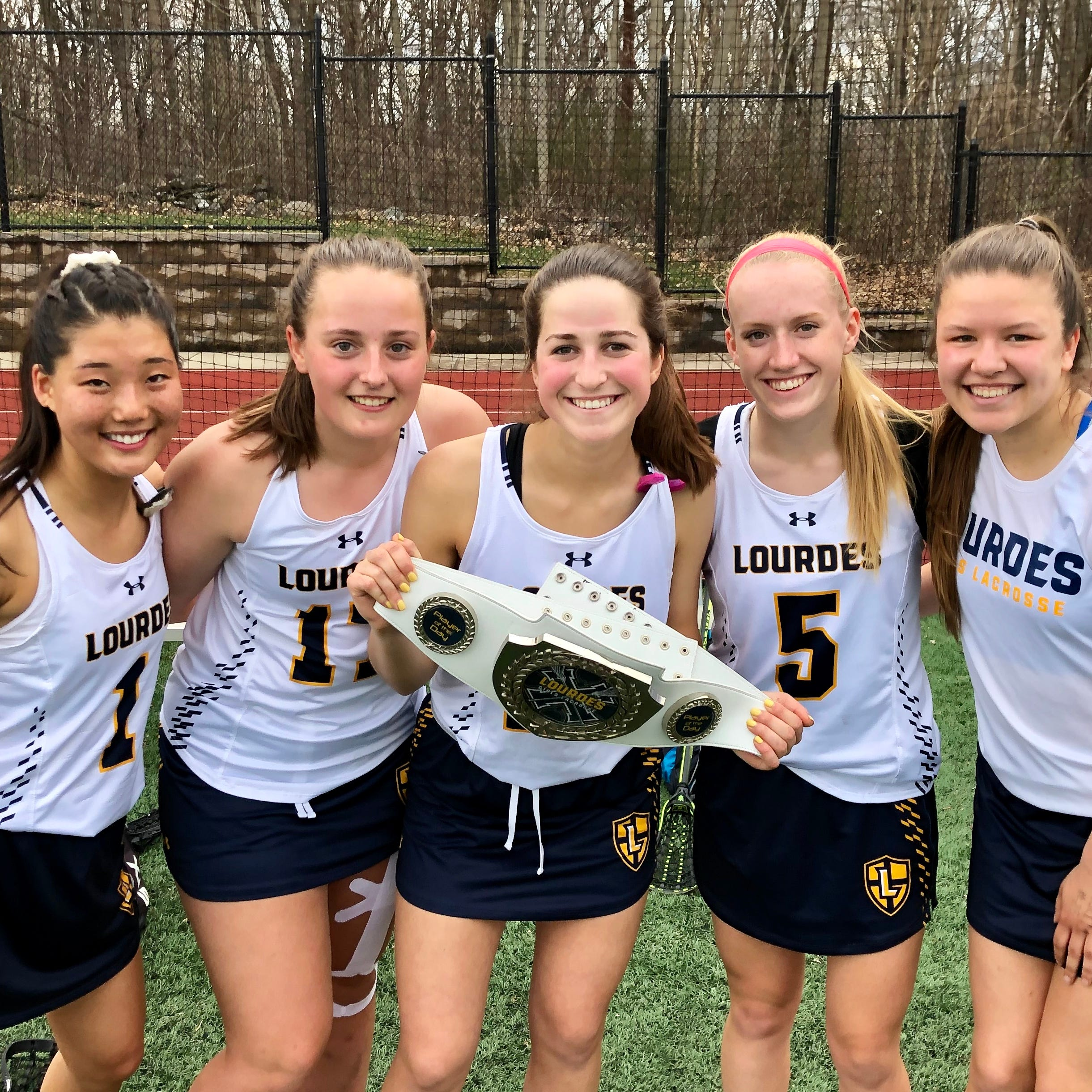 Siegrist's basketball-to-lacrosse transition is a fast break for Lourdes