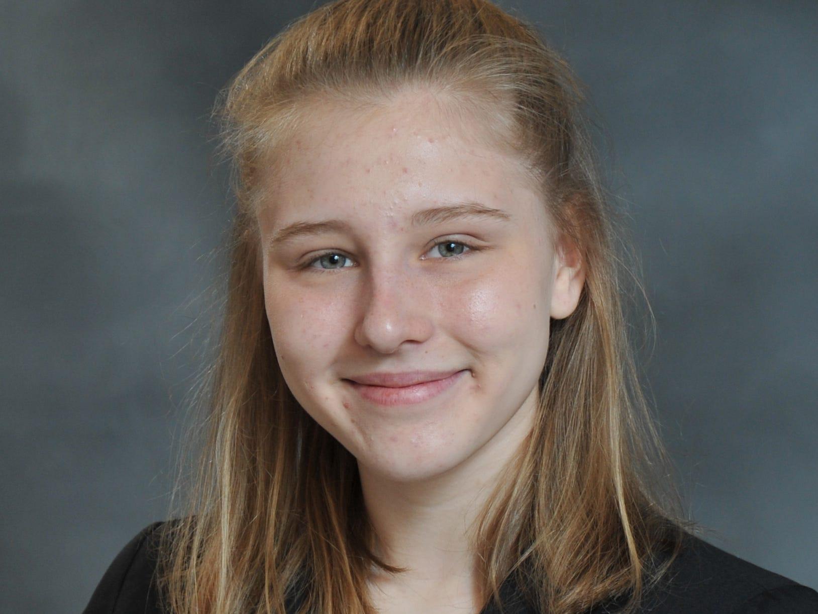 Chloe Barlett, Northeastern High School, Distinguished Young Women of York County participant.