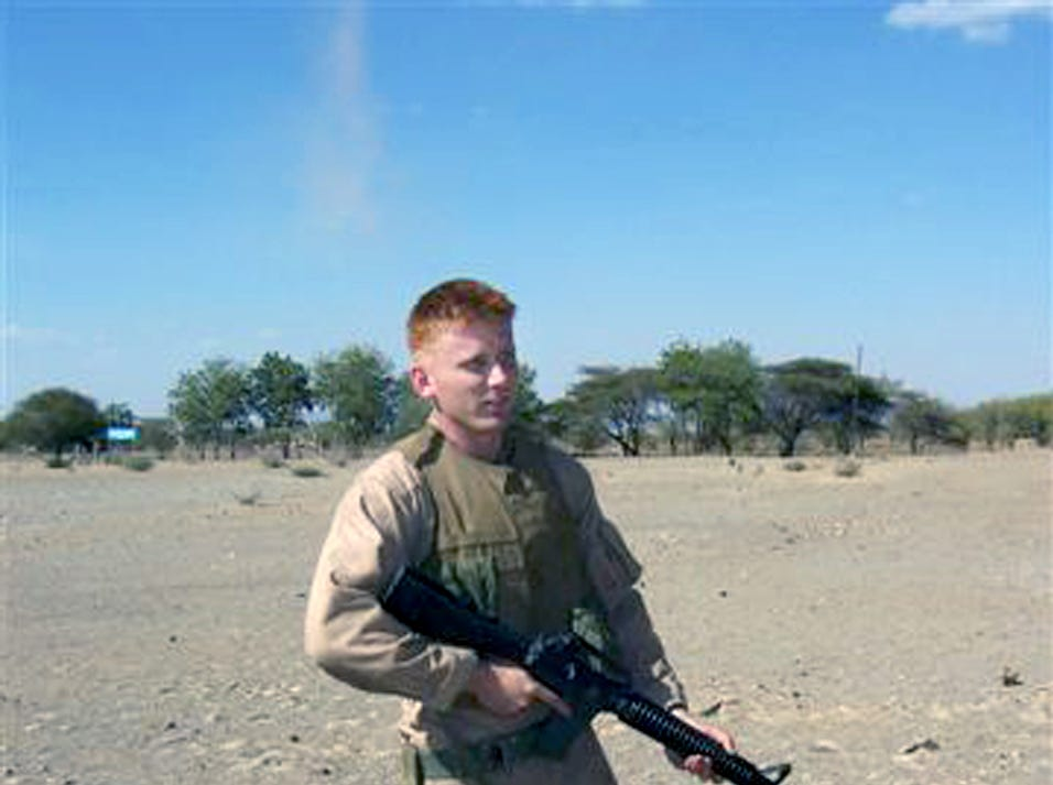 U.S. Marine Sgt. Jonathan Eric McColley, 23, a Gettysburg native, was among 10 service members who died Feb. 17, 2006, when a pair of Marine helicopters crashed off the coast of Africa. The helicopters were from Marine Heavy Helicopter Squadron 464, based at Marine Corps Air Station New River in North Carolina.
