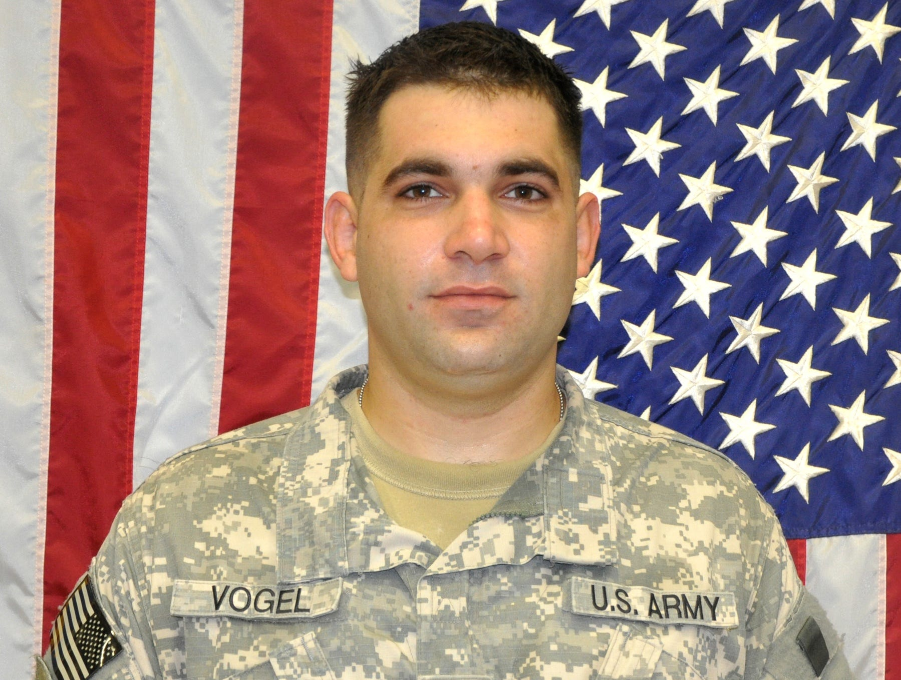 Army Spc. Ross E. Vogel III, 27, of Red Lion died Sept. 29, 2009, in Kut, Iraq, of injuries suffered from a non-combat-related incident.