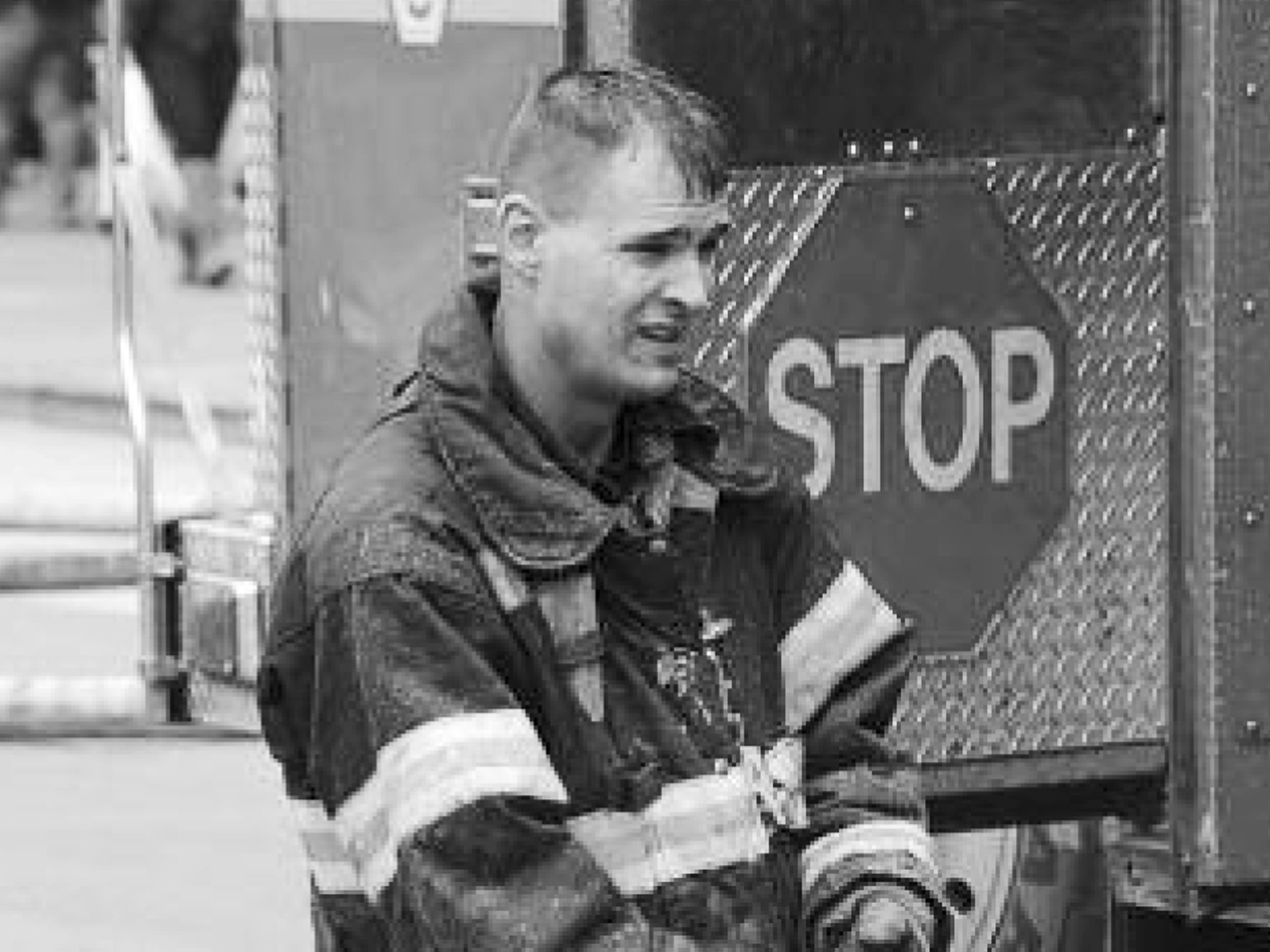 This undated photo, provided by the Fire Department of New York, Tuesday April 9, 2019, shows Fire Department of New York firefighter Christopher Slutman. Slutman, a 15-year member of the Fire Dept. of New York, was among three American service members killed by a roadside bomb in Afghanistan on Monday.