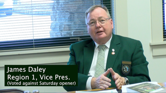 After the vote, the board of the Game Commission discussed why they voted the way they did regarding moving the opening day of deer rifle season.