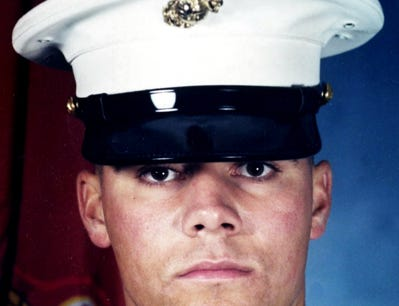 Marine Cpl. Brian Matthew Kennedy was one four Marines killed in a helicopter crash in Kuwait on March 20, 2003. He was the grandson of Jack W. Kennedy, who was president of York International, formerly York Corp. and now Johnson Controls, from 1970 to the late 1980s.(AP Photo/Family photo via Portland Press Herald)