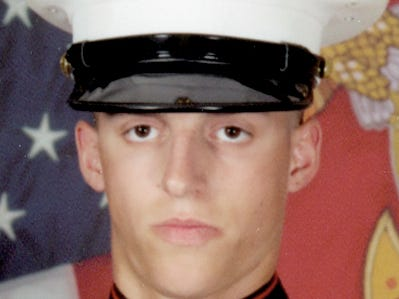 U.S. Marine Ben Hines, a 2006 Dallastown graduate, was one of three service members killed April 8, 2019 in a Taliban attack in Afghanistan.