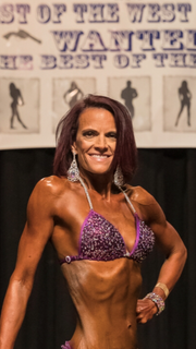 Marci Westlake of Reno, poses during the Best of the West show last October.