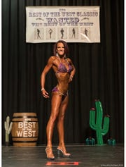 Marci Westlake will be competing in the NPC Mother Lode show at the GSR on Saturday.