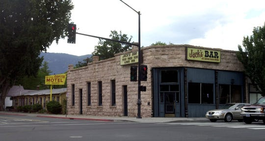 The 1899 Jack's Bar on South Carson Street in Carson City was damaged in a 1998 fire and has been closed since 2002. The Nevada Builders Alliance bought the building in 2018 and is reviving it as Bank Saloon, the bar's original name.