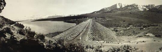 Bridgeport Reservoir shortly after its construction.