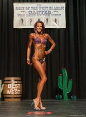 Marci Westlake of Reno is competing in the NPC Mother Lode, National Qualifier  Saturday at the Grand Sierra Resort in Reno.