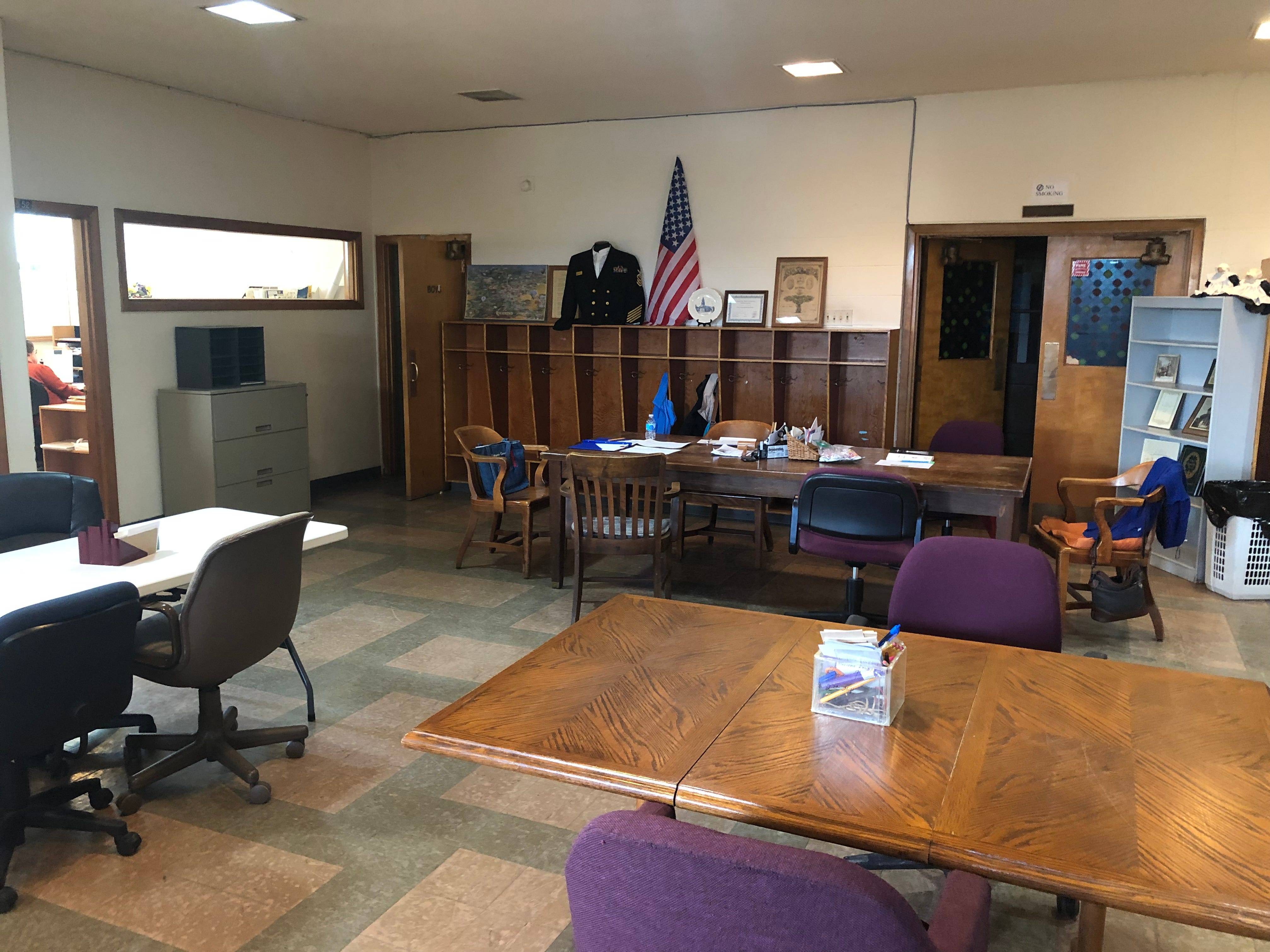 This space in the basement of St. John Lutheran Church is the current home for the Wayne County Genealogical Society, but the nonprofit needs to find a new home.