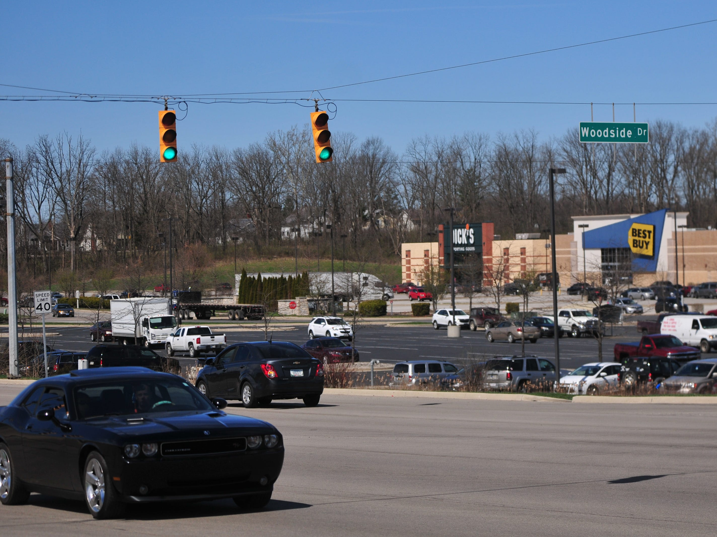 Richmond Police Department reported 19 accidents during 2018 at the intersection of National Road East and Woodside Drive.