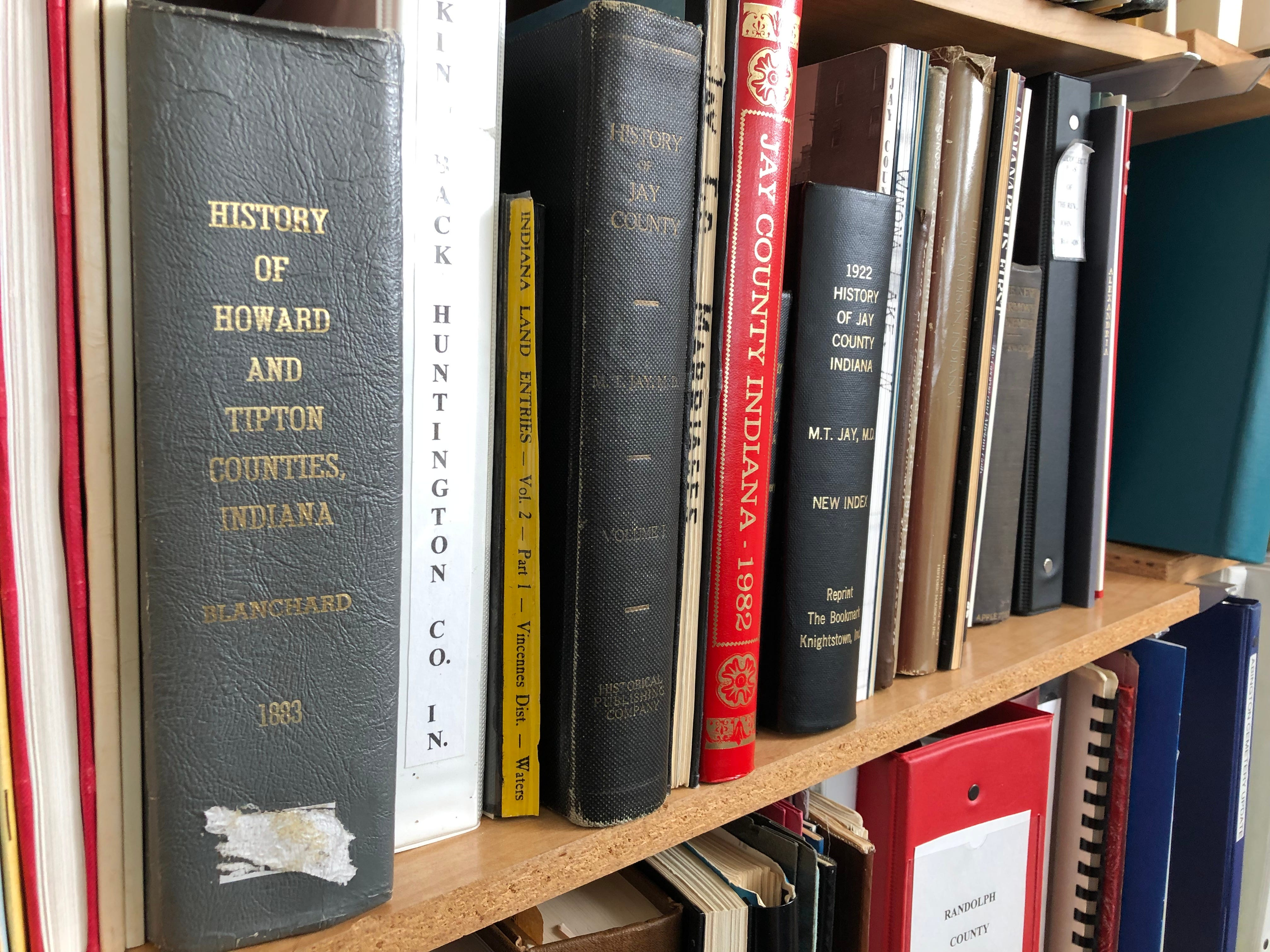 They Wayne County Genealogical Society's reference materials include items from around the state and beyond.