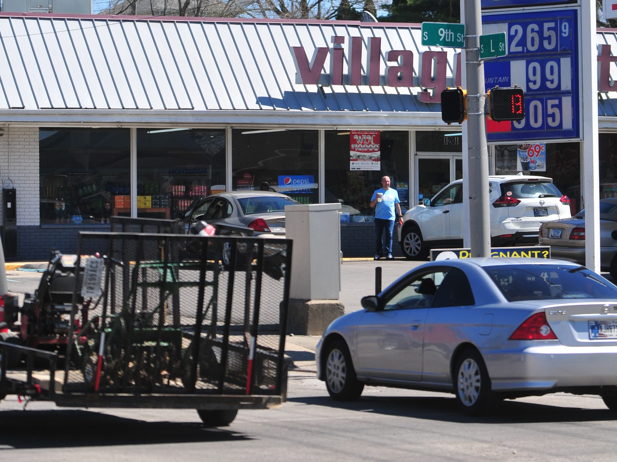 Richmond Police Department reported 10 accidents during 2018 at the intersection of South Ninth and South L streets.
