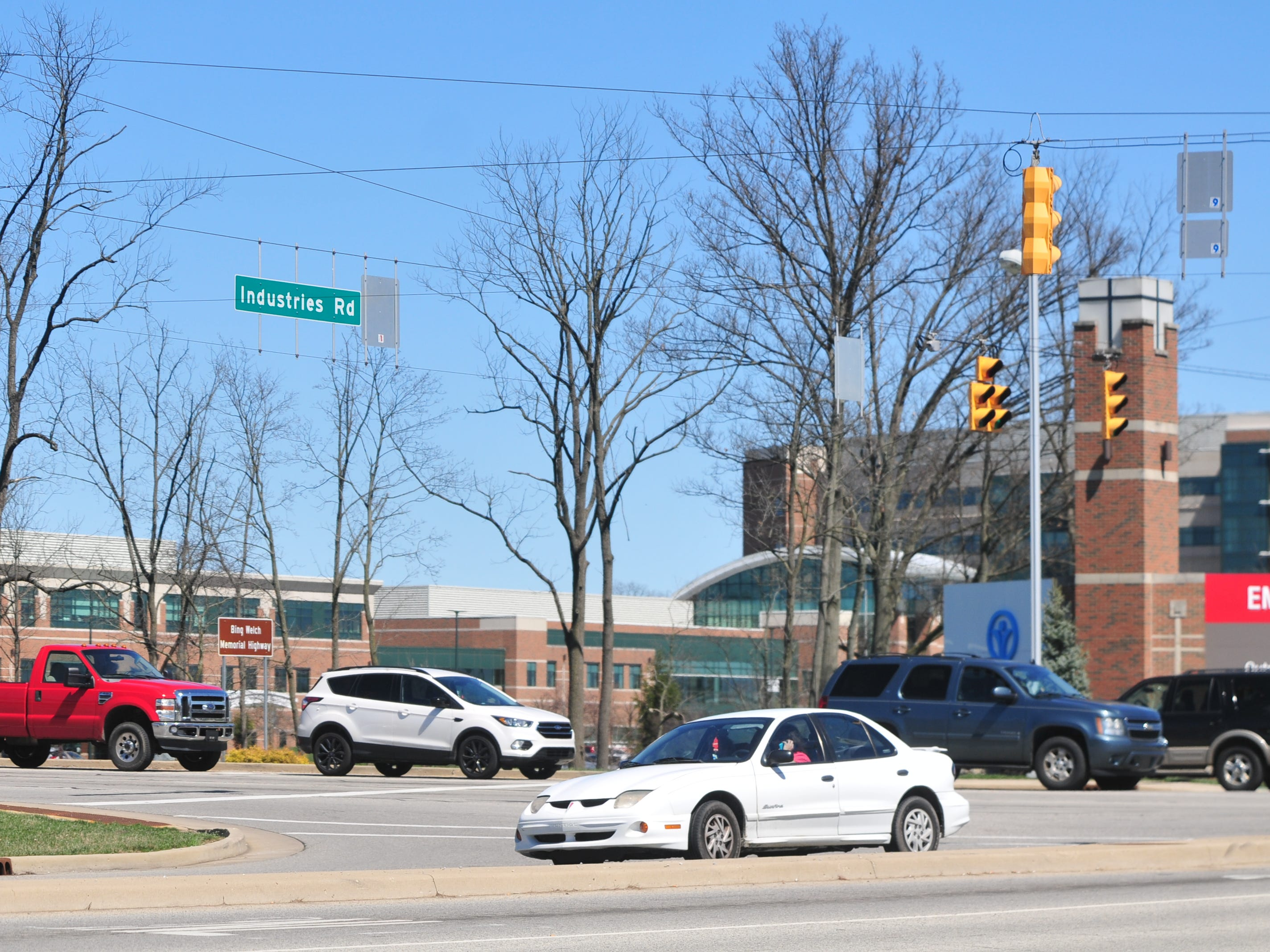 Richmond Police Department reported 12 accidents during 2018 at the intersection of Chester Boulevard and Industries Road/Reid Parkway.