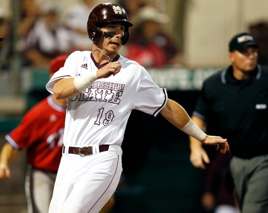 Brent Rooker starred in college baseball at Mississippi State.