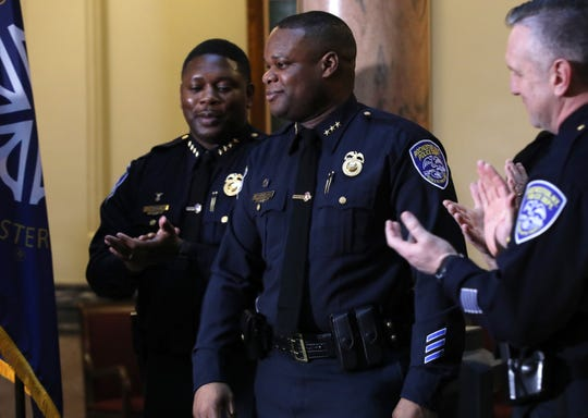 Police Chief La'Ron Singletary vows to increase patrols and traffic stops in northeast Rochester.