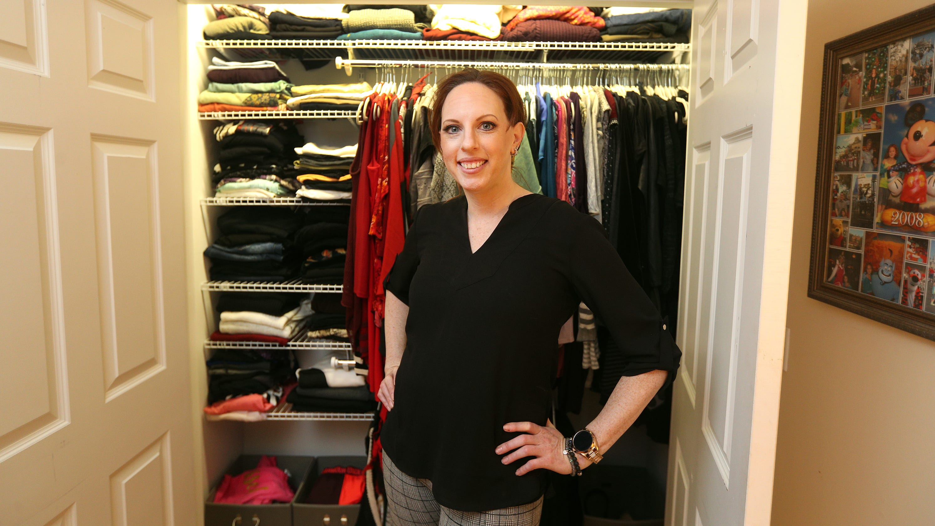 Closet Organizing For Spring With Rochester S Version Of Marie Kondo