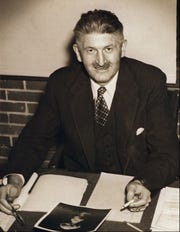 Dr. Stafford Warren, WWII-era Rochester faculty involved in the plutonium injections. U of R Medical Library Photo.