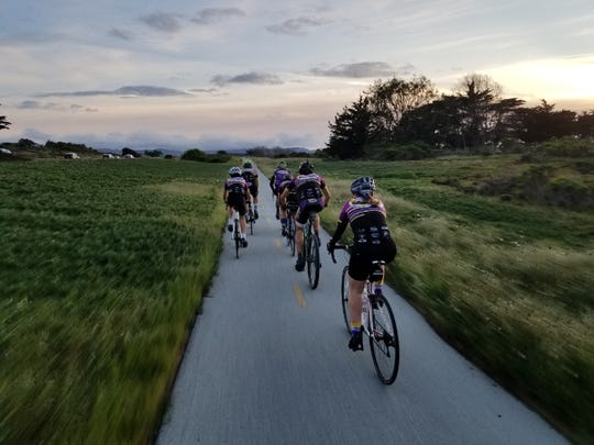 Riders partaking in the Cowboy challenge traversed the Monterey Bay Coastal Recreation Trail for 24 hours over the weekend.