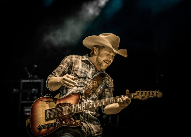 Kyle Park performing at Cedar Park Center in Cedar Park, Texas on February 13, 2015.