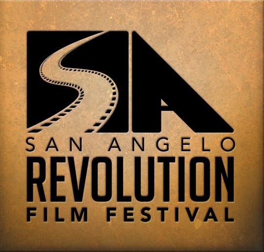 Logo for San Angelo Revolution Film Festival.