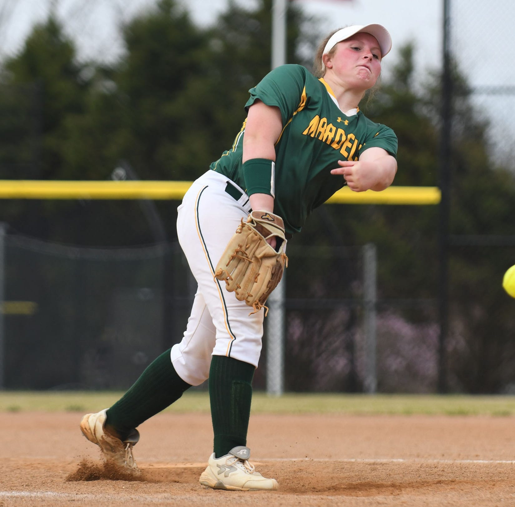 Mardela pitcher Grace Barnes finds success with third high school team