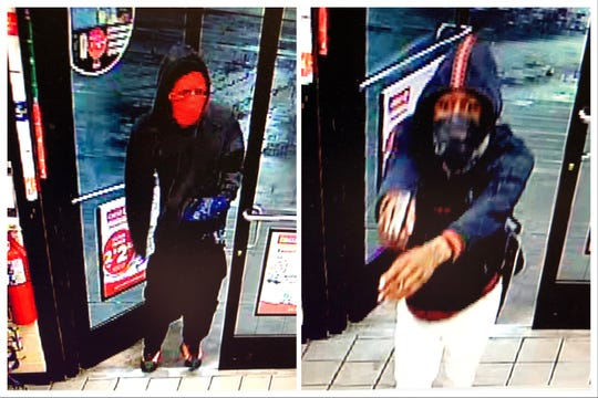 WANTED: The Shreveport Police Department is looking for information on the identity of two suspects involved in the armed robbery of a Circle K early Sunday.