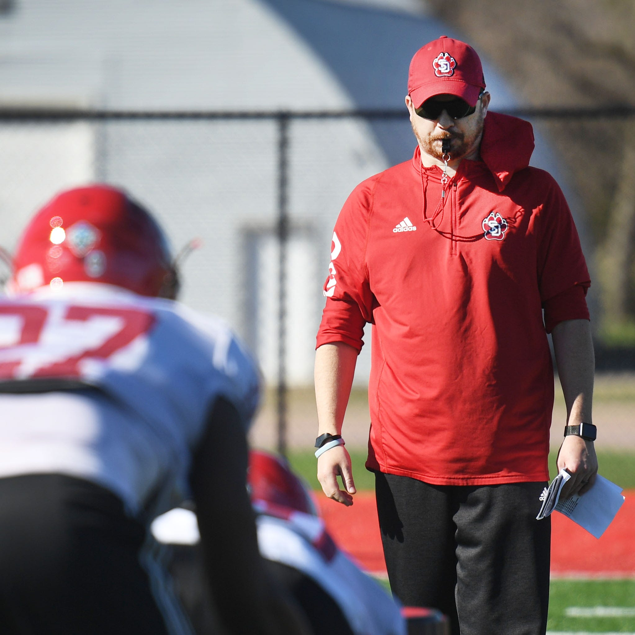 New USD defensive coordinator Travis Johansen building unit from the ground up