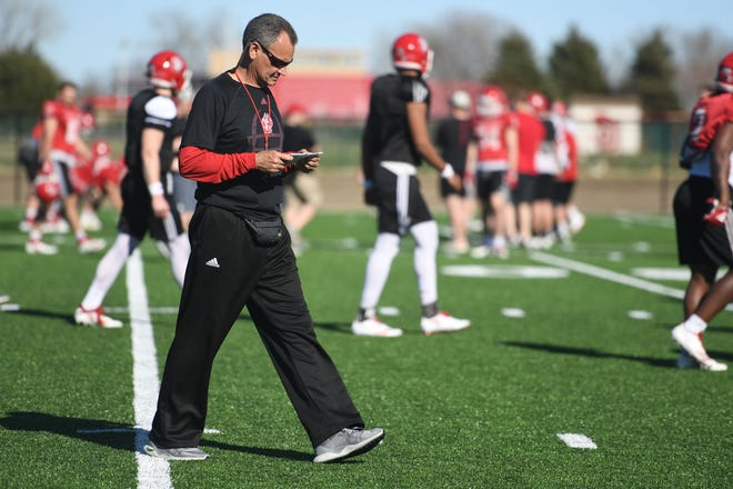"""USD coach Bob Nielson: """"I think college football is going to look a little different, particularly maybe in early September."""""""