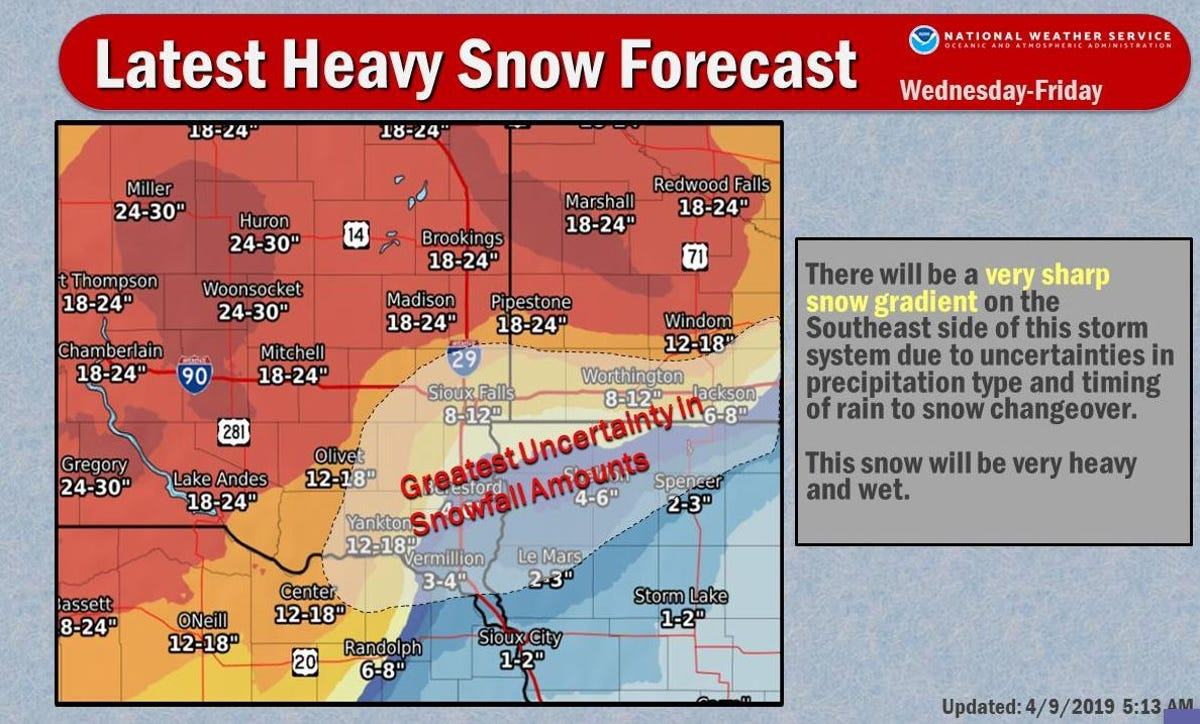 South Dakota weather: What to know for this week's winter storm
