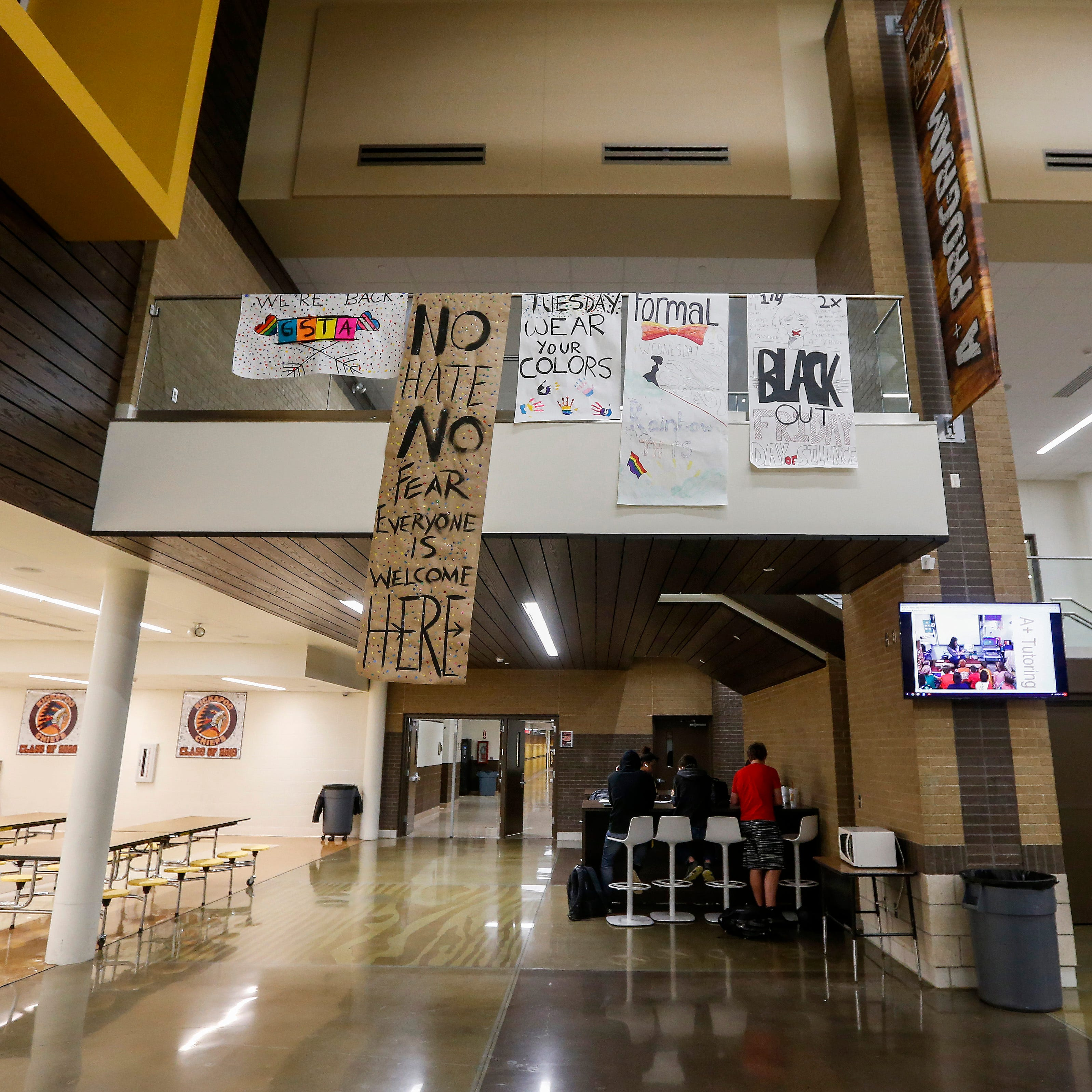Second LGBT poster ripped off wall at Kickapoo High School