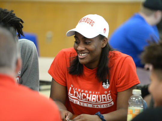 Lexi Hall, a Lee High senior, announced Tuesday she'll be playing basketball at Lynchburg College.
