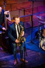Adam Larson joins local talents Dave Detweiler, Ben Adkins, Jeff Benatar and Mikailo Kasha at 7 p.m. Friday at B Sharp's Jazz Cafe.