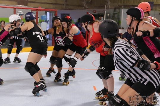 Tallahassee Sinators take on the Georgia Southern Harm Derby Dames on Saturday.
