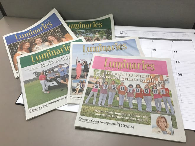 Luminaries is Treasure Coast Newspapers' colorful, weekly magazine covering the charitable and nonprofit scenes in Indian River, St. Lucie and Martin counties.