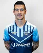 Sebastián Contreras is a midfielder for the El Paso Locomotive.